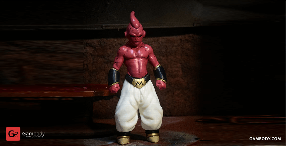 Buy Majin Buu 3D Printing Miniature | Assembly