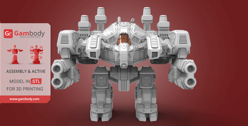 Buy Terran Thor 3D Printing Model | Assembly + Action