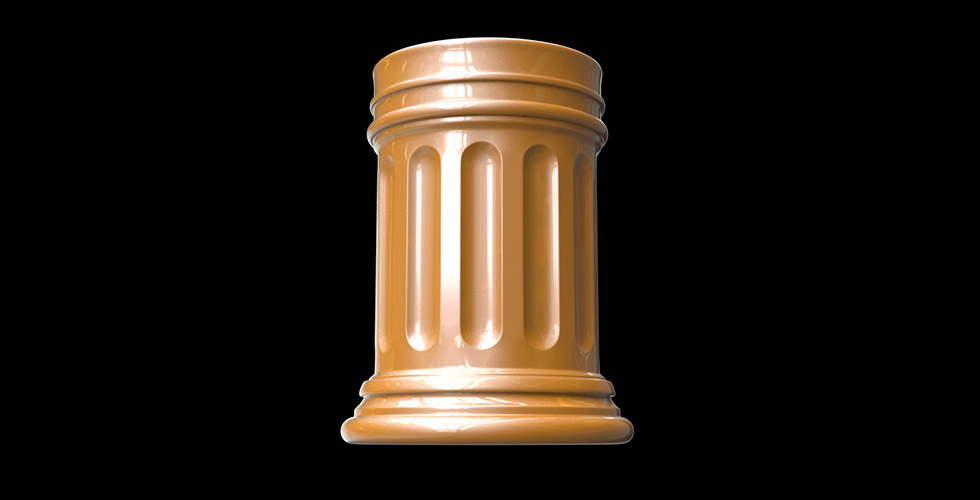Buy Greek Pencil Holder