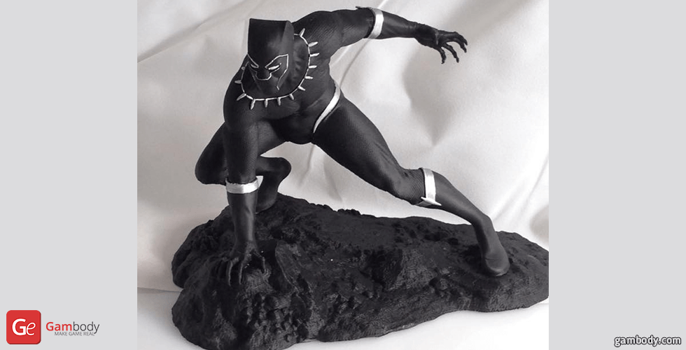 Buy Black Panther 3D Printing Figurine | Assembly
