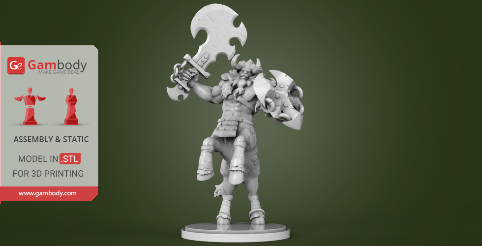 Buy Lynel 3D Printing Miniature | Assembly