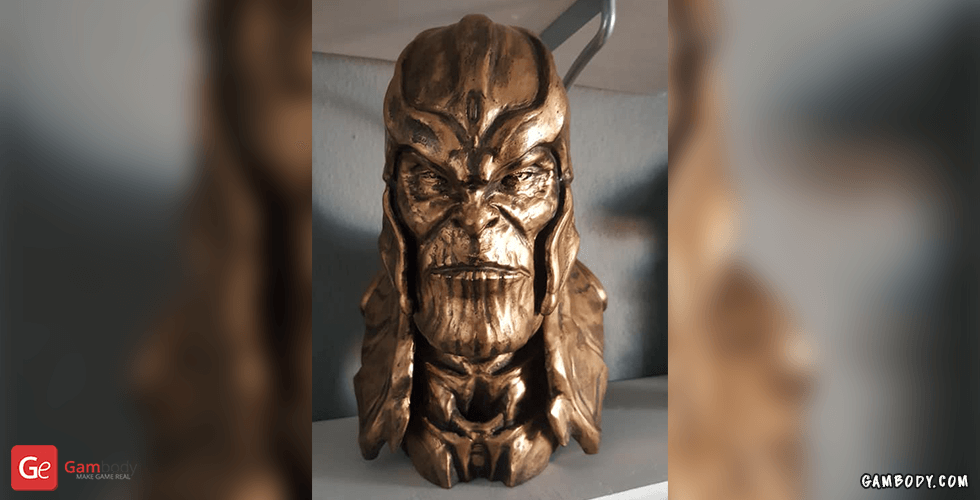 Buy Thanos Bust 3D Printing Miniature | Static