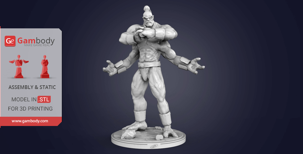 Goro 3D Printing Miniature | Assembly