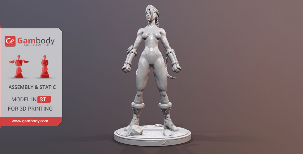 Buy Cammy 3D Printing Miniature | Assembly