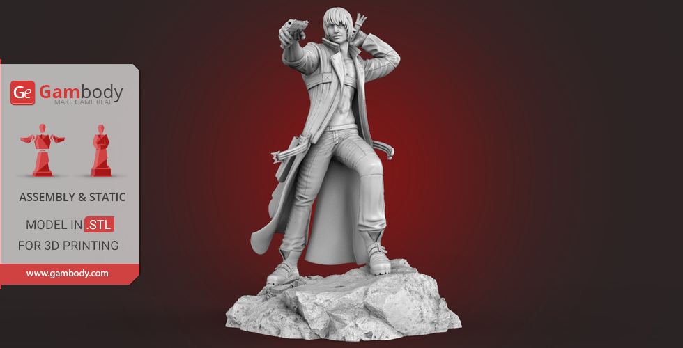 Buy Dante 3D Printing Miniature | Assembly