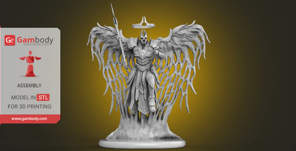 Buy Imperius 3D Printing Figurine | Assembly