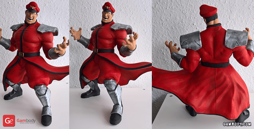Buy M. Bison 3D Printing Miniature | Assembly
