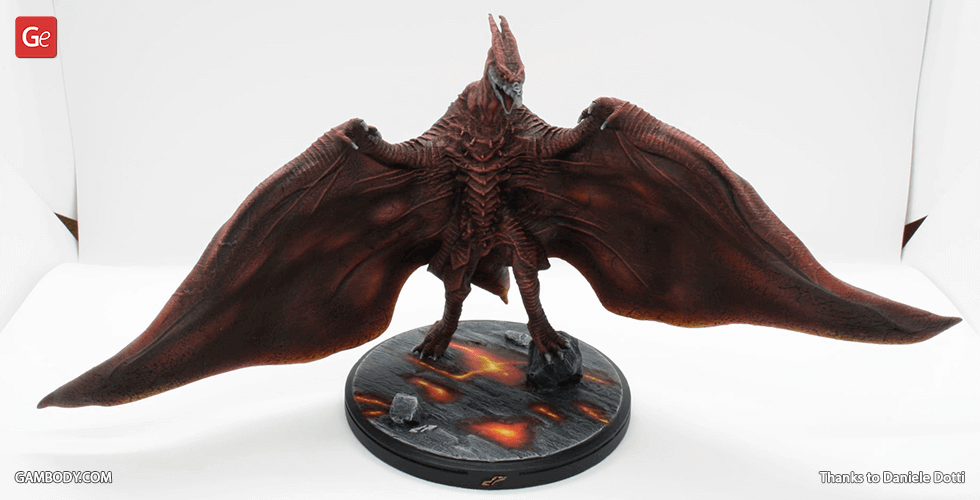 Buy Rodan 3D Printing Miniature | Assembly