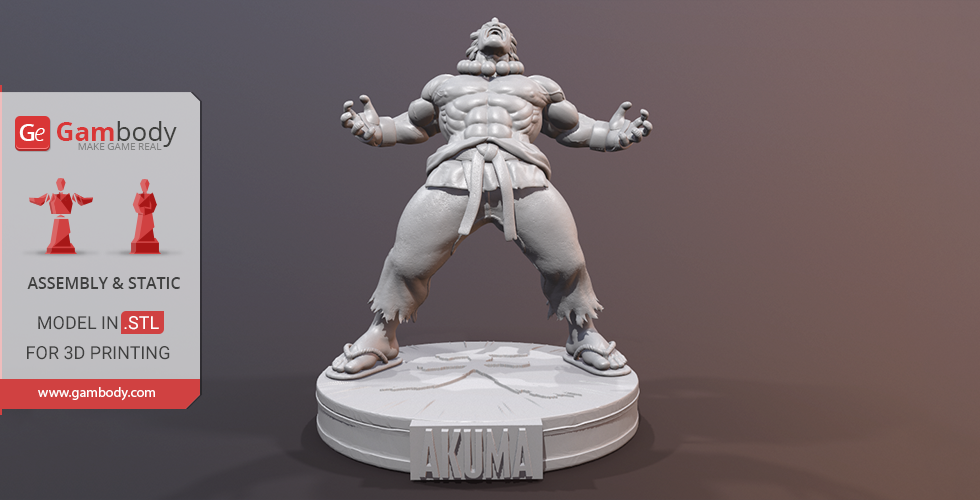Buy Akuma 3D Printing Miniature | Assembly