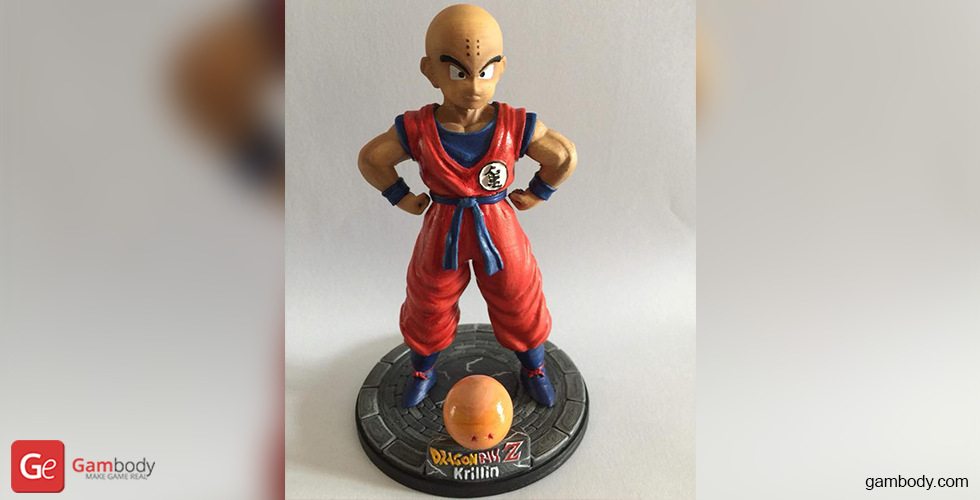 Buy Krillin 3D Printing Miniature | Assembly
