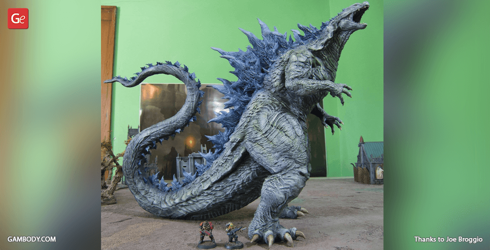 Buy Godzilla Hybrid 3D Printing Miniature | Assembly