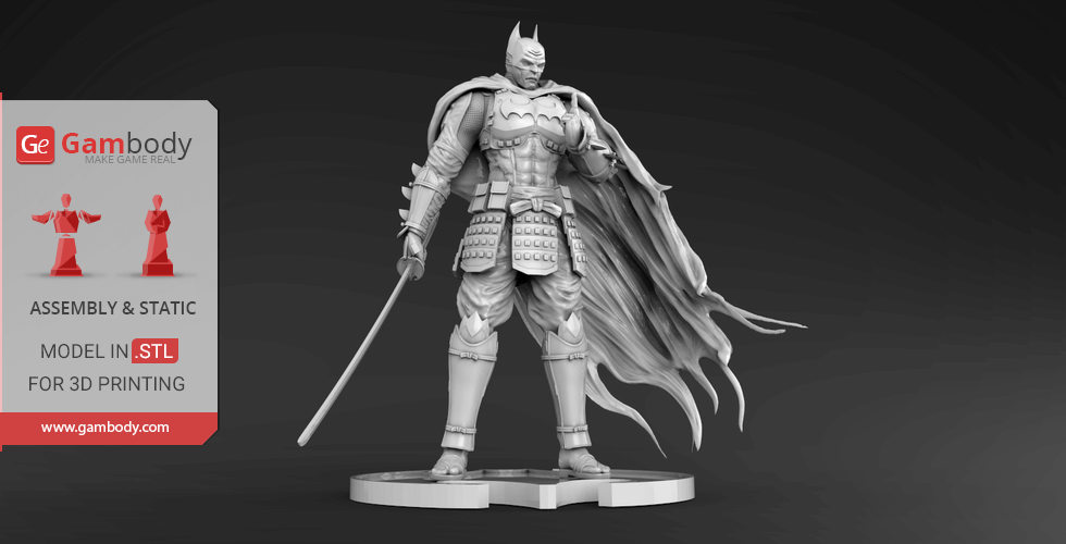 Buy Batman Ninja 3D Printing Miniature | Assembly