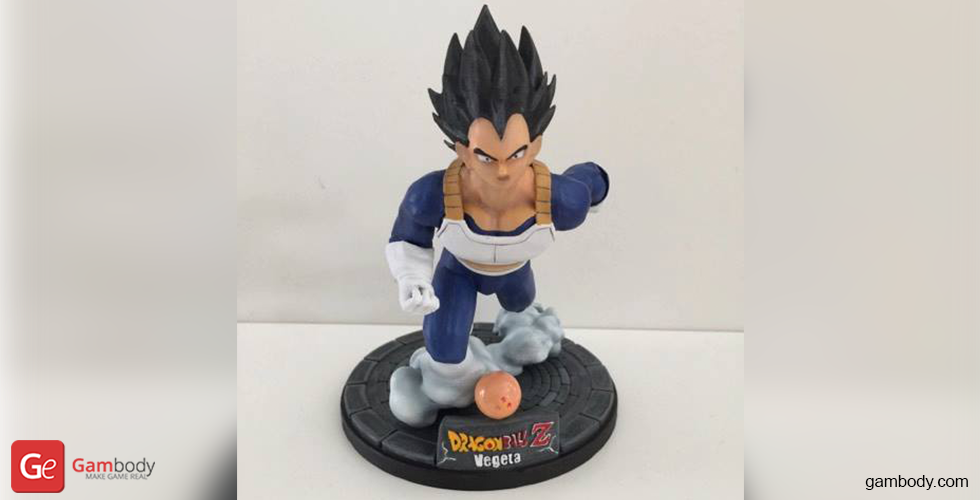 Buy Vegeta 3D Printing Miniature | Assembly