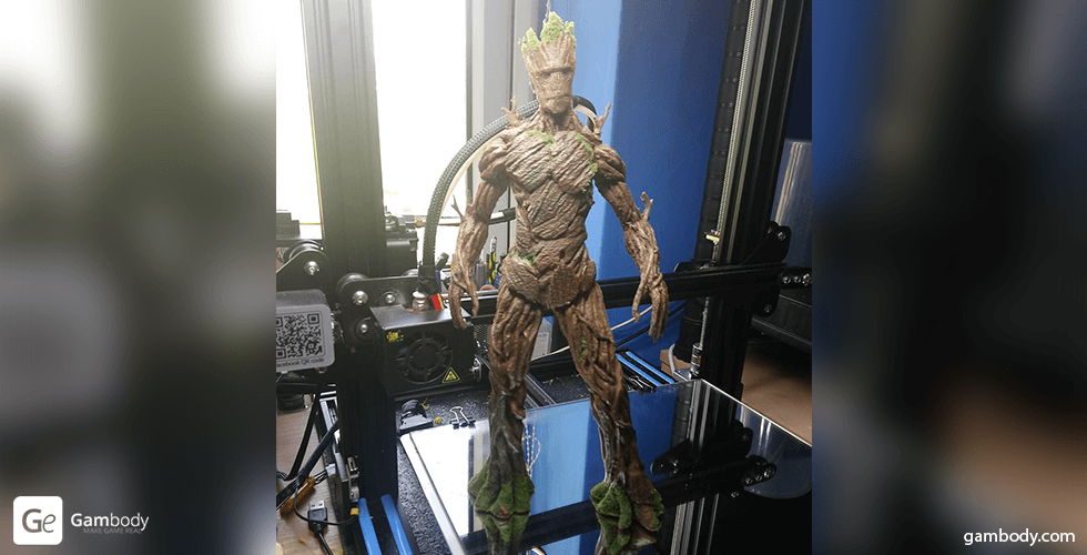 Buy Adult Groot 3D Printing Miniature | Assembly