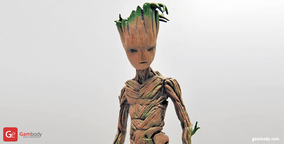 Buy Teenager Groot 3D Printing Miniature | Assembly