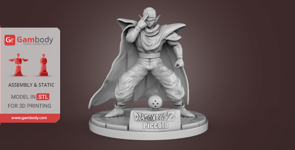 Buy Piccolo 3D Printing Miniature | Assembly