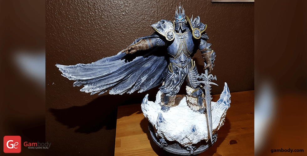 Buy Wrath of the Lich King 3D Printing Figurine | Assembly