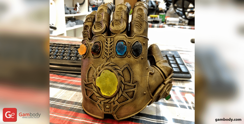 Buy Thanos Infinity Gauntlet 3D Printing Model | Assembly