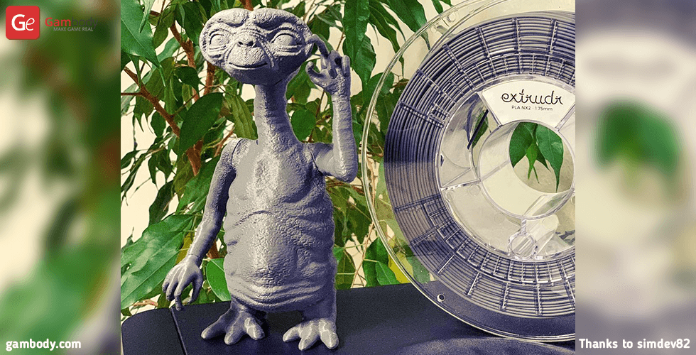 Buy E.T. the Extra-Terrestrial 3D Printing Figurine | Assembly