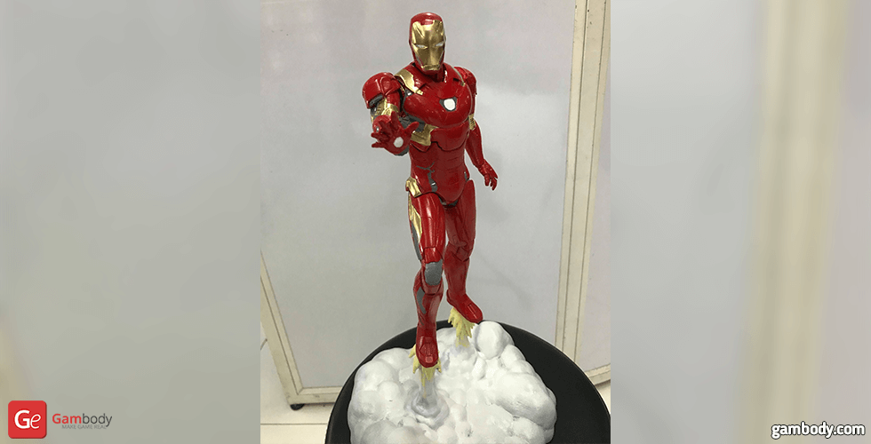 Buy Iron Man Mark 46 3D Printing Figurine | Assembly