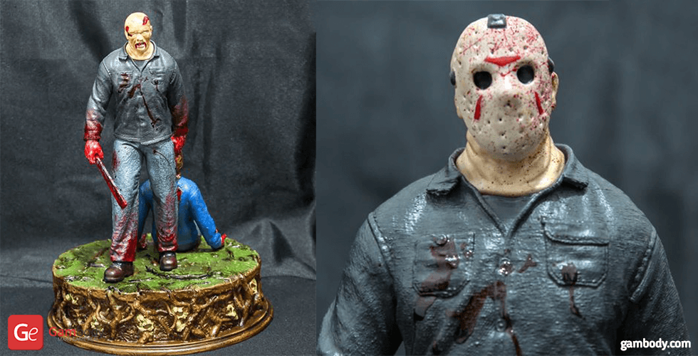 Buy Jason Voorhees 3D Printing Figurine in Diorama | Assembly