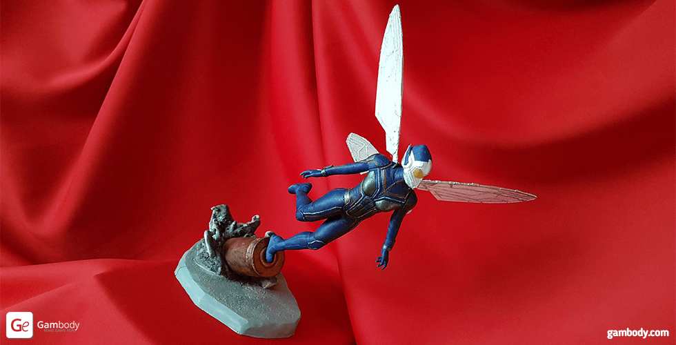 Buy The Wasp for diorama 3D Printing Figurine | Assembly