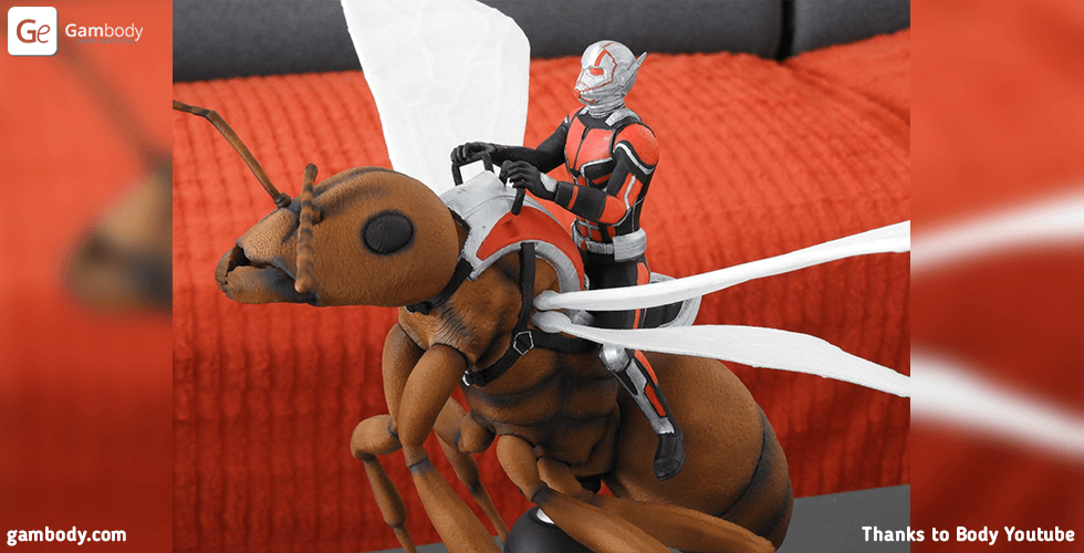 Buy Ant-Man for diorama 3D Printing Figurine | Assembly