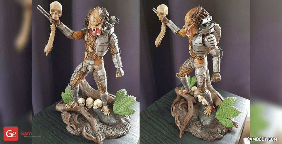 Buy Predator Jungle Hunter 3D Printing Figurine | Assembly