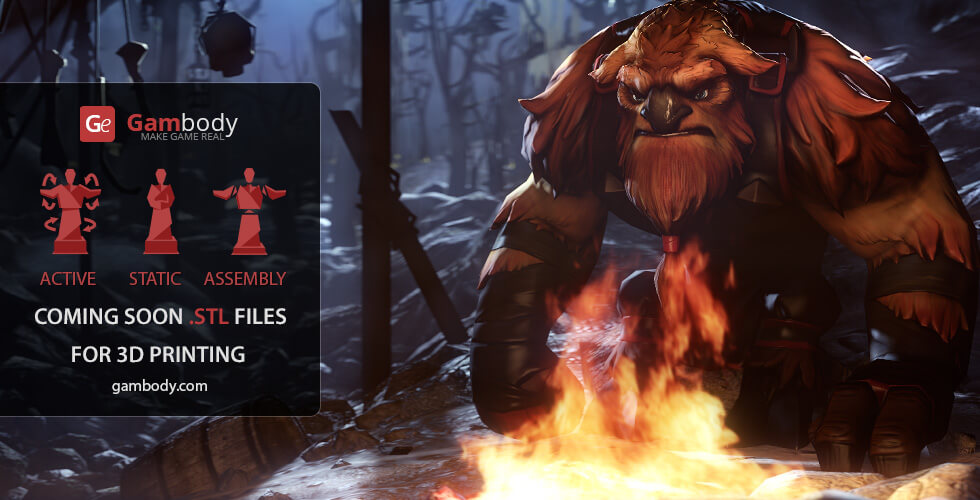 Buy Earthshaker Dota2 Hero Scale Model