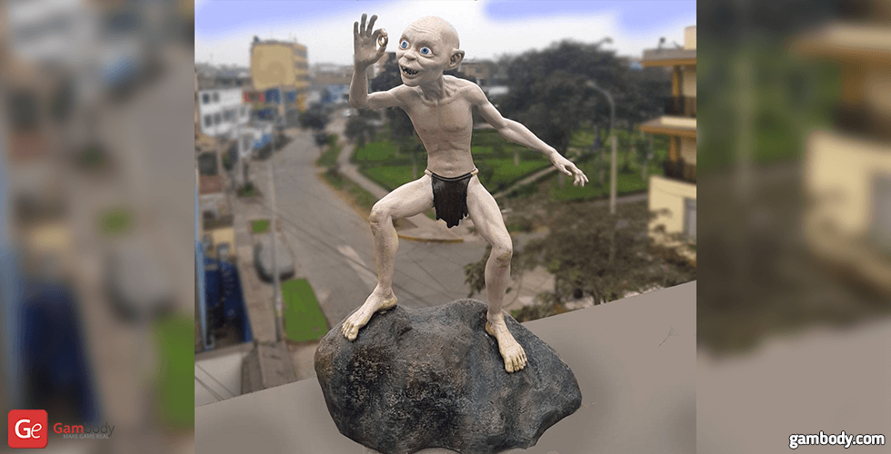 Buy Gollum & His Precious 3D Printing Figurine | Assembly
