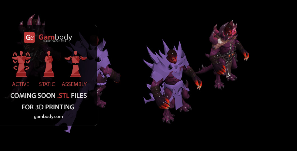 Buy Shadow Demon Dota2 Hero Scale Model