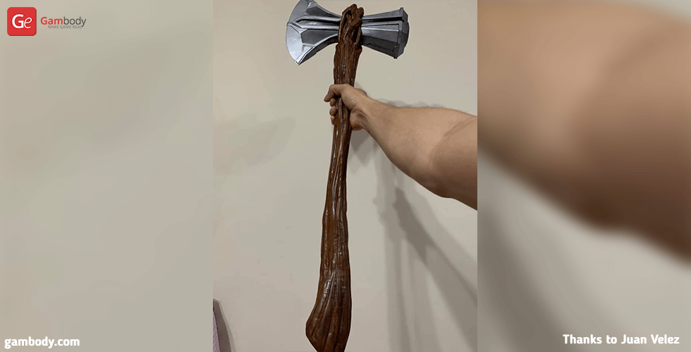 Buy Stormbreaker Thor's Axe 3D Printing Cosplay Stuff | Assembly