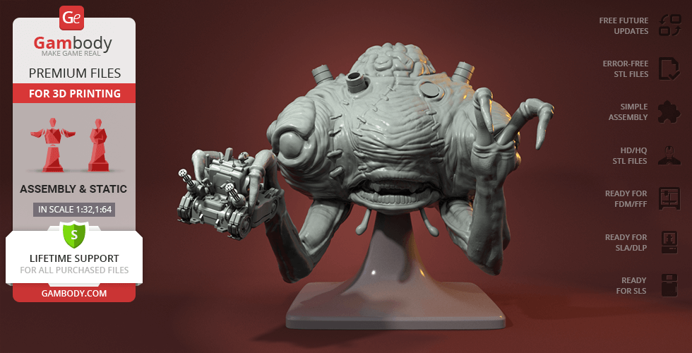 Buy Rootmars 3D Printing Figurine | Assembly