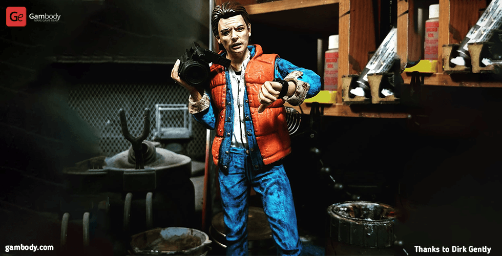 Buy Marty McFly 3D Printing Figurine | Assembly
