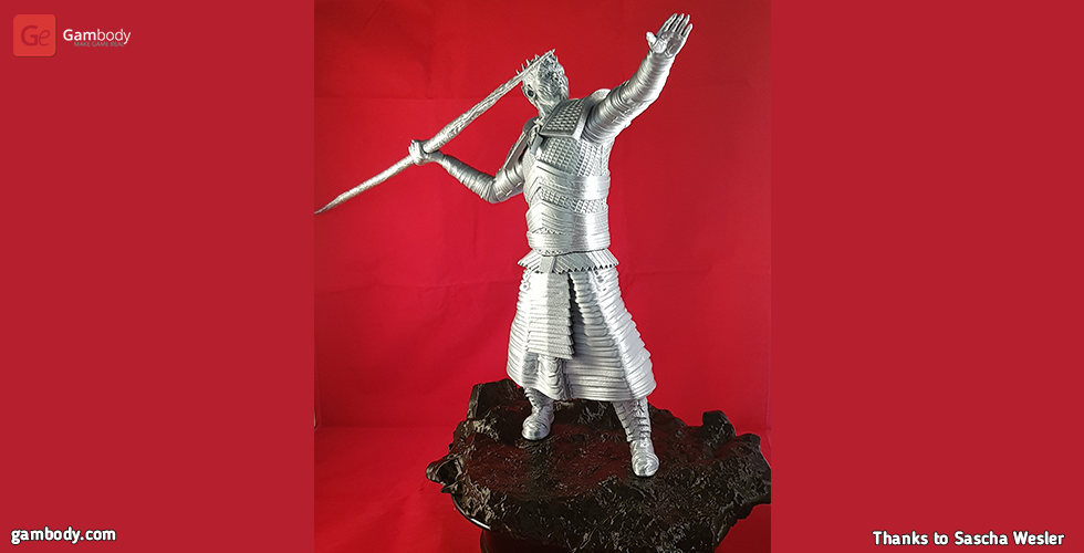 Buy Night King 3D Printing Figurine | Assembly