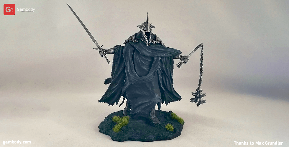 Buy Lord of the Nazgul 3D Printing Figurine | Assembly