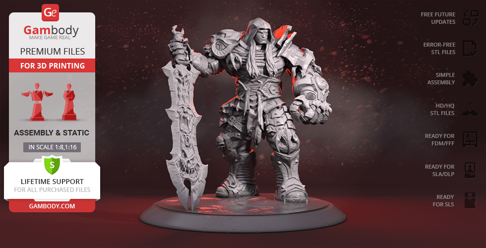 Buy War 3D Printing Figurine | Assembly