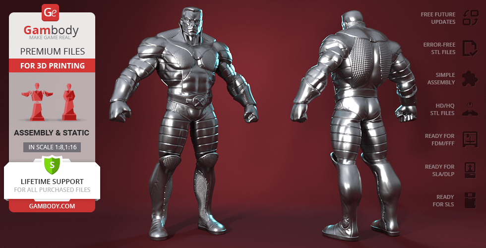 Buy Colossus 3D Printing Figurine | Assembly