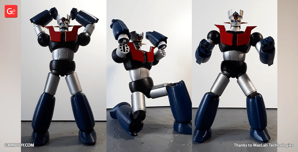 Buy Mazinger Z 3D Printing Model | Action Assembly