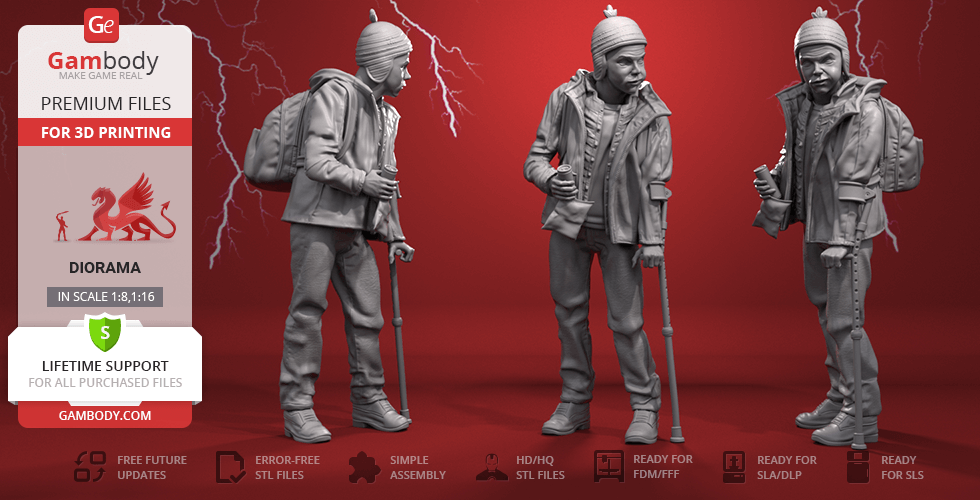 Buy Freddy Freeman 3D Printing Figurine | Assembly