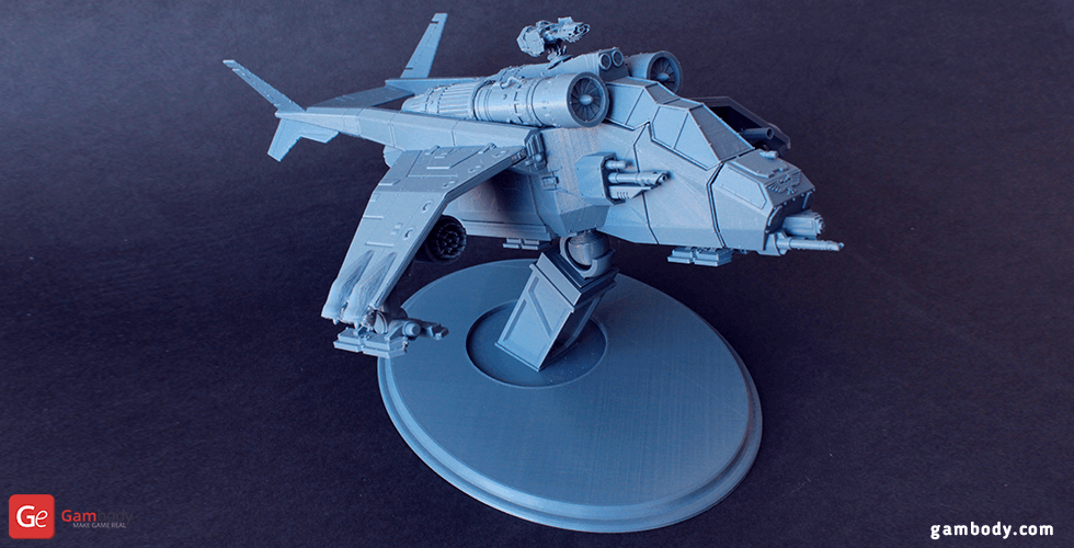 Buy Valkyrie Helicopter 3D Printing Model | Assembly