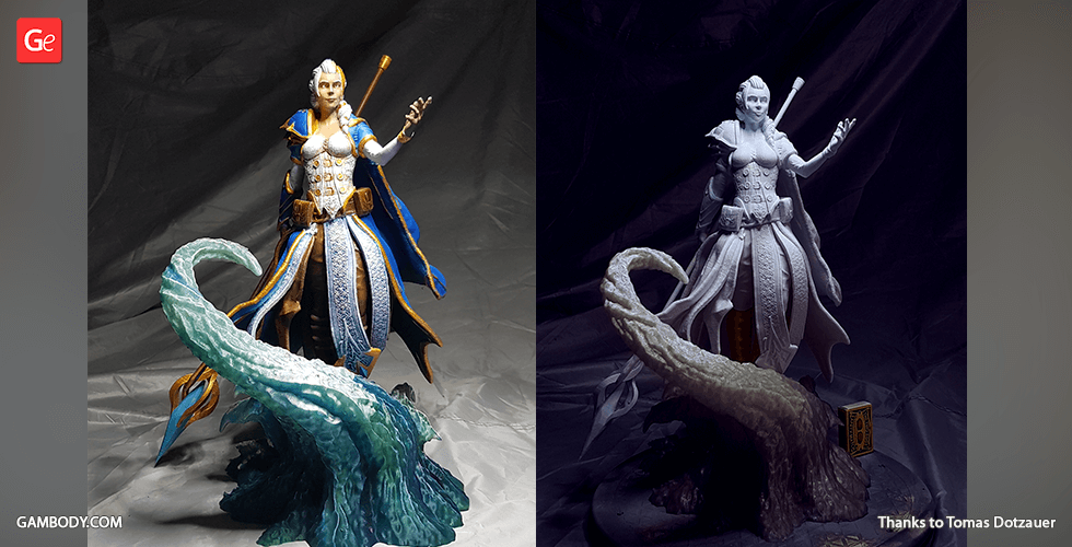 Buy Jaina 3D Printing Figurine | Assembly