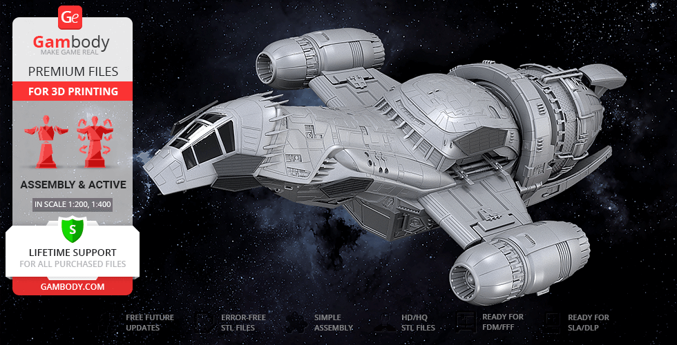 Buy Serenity 3D Printing Model | Assembly