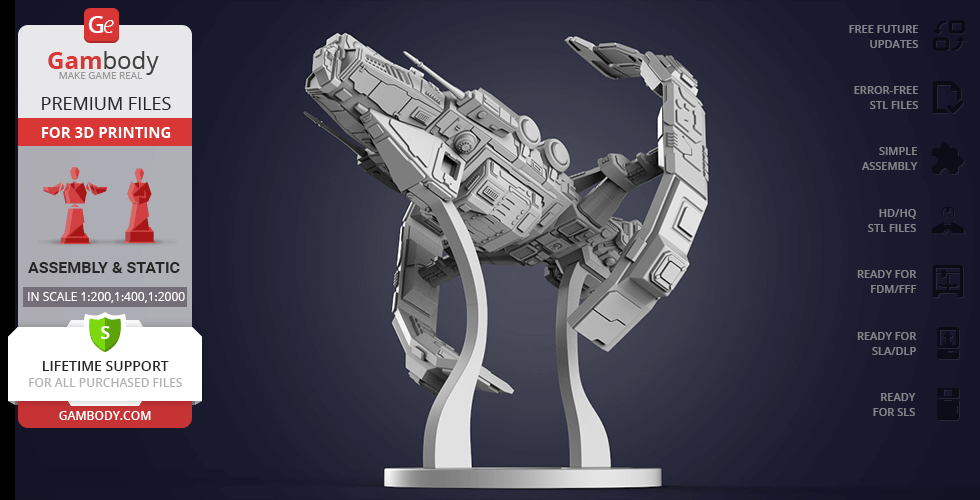 Buy Astero 3D Printing Model | Assembly