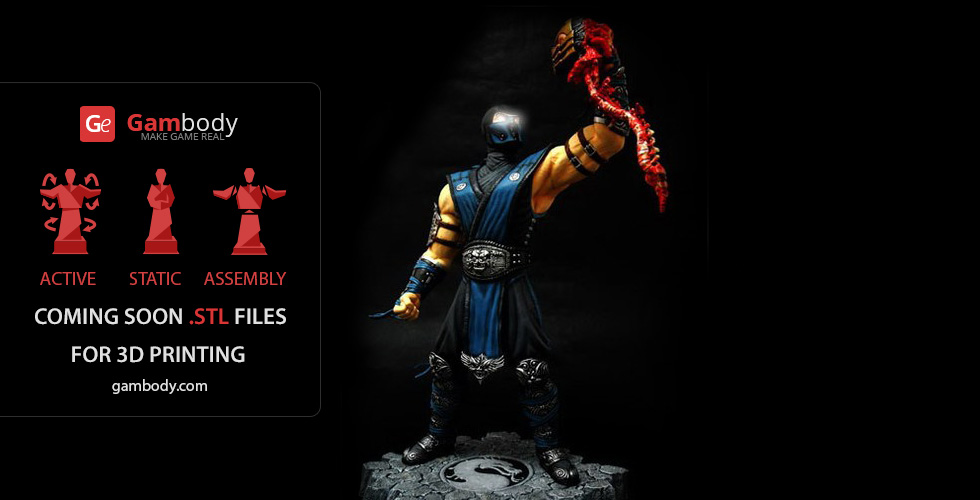 Buy Sub Zero from Mortal Kombat (Static figure)