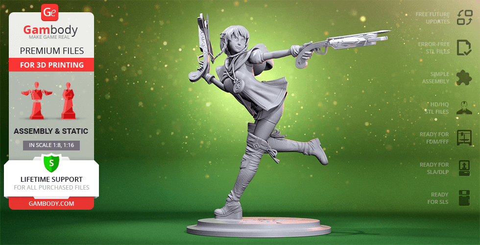 Buy Linkle 3D Printing Figurine | Assembly