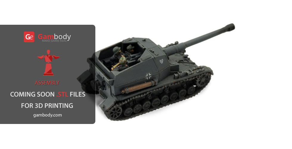 Buy K18 auf Panzer battle tank (Assembly model)