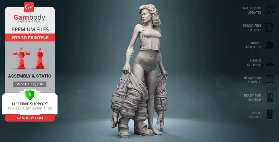 Buy Ripley Underwear 3D Printing Figurine | Assembly