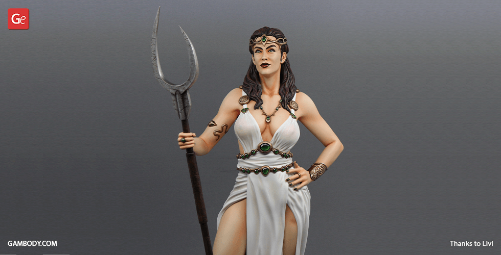 Buy Persephone 3D Printing Figurine | Assembly