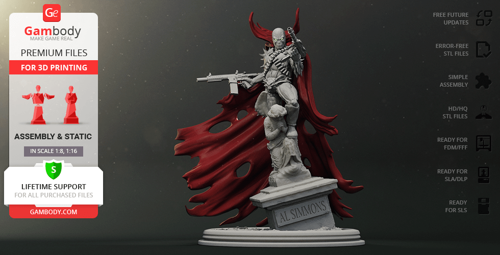 Buy Spawn 3D Printing Figurine | Assembly
